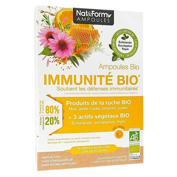 Nat & Form Complexe Immunité Bio 20 ampoules