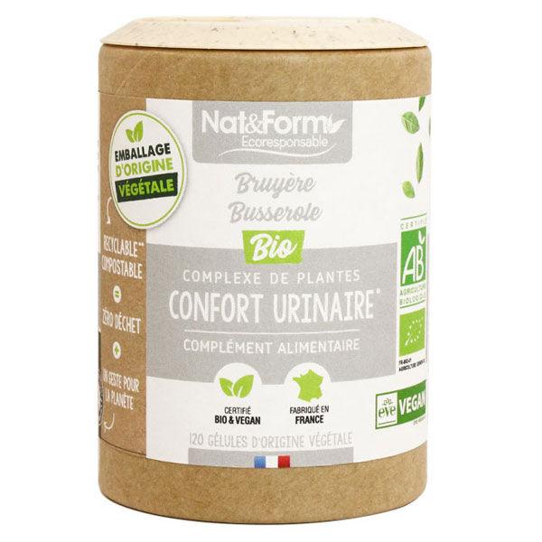 Nat & Form Eco Responsable Complexe Confort Urinaire Bio 120 gélules