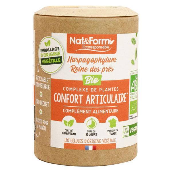 Nat & Form Eco Responsable Complexe Confort Articulaire Bio 120 gélules