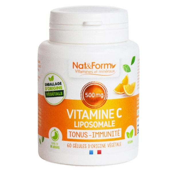 Nat & Form Vitamine C Liposomale 60 gélules