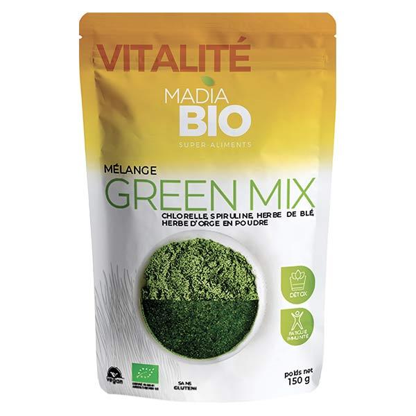 Madia Bio Super Aliments Green Mix 150g