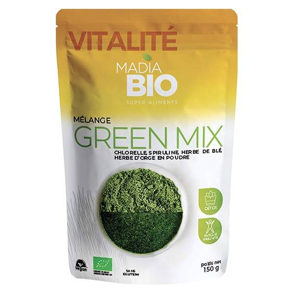 Madia Bio Super Aliments Green Mix 150g