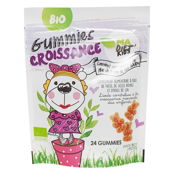 Madia Bio Confiseries Gummies Croissance 60g