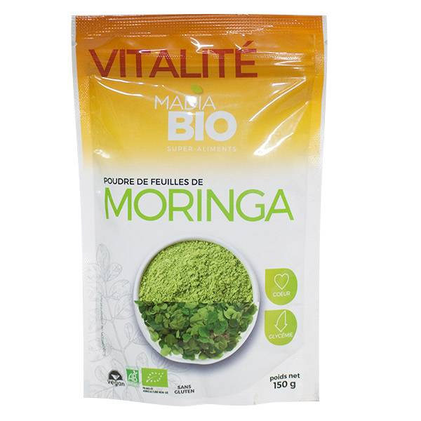 Madia Bio Super Aliments Moringa Poudre 150g