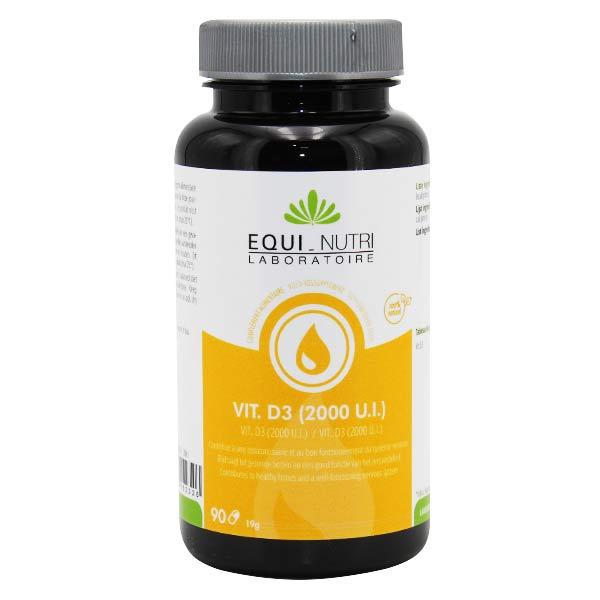 Equi-Nutri Vitamine D3 2000 UI 90 capsules