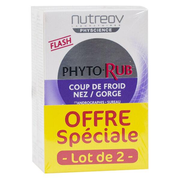 Nutreov Physcience Phyto-Rub Coup de Froid Lot de 2 x 10 comprimés
