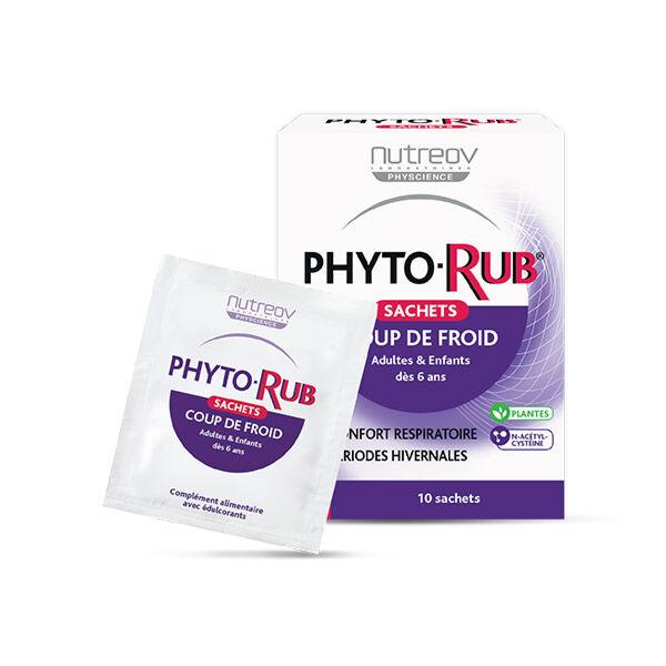 Nutreov Physcience Phyto-Rub Coup de Froid Adultes et Enfants 10 sachets