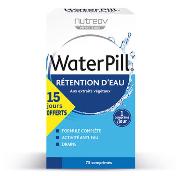 Nutreov Physcience WaterPill Rétention d'Eau 75 comprimés dont 15 Jours Offerts