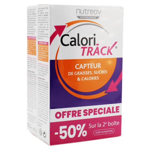 Nutreov Physcience Calori-Track Capteur de Graisses Sucres & Calories 60 comprimés