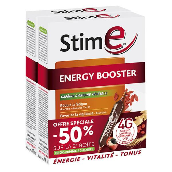 Nutreov Physcience Stim E Energy Booster 2 x 20 ampoules