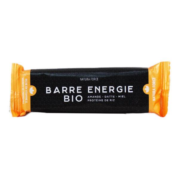 Natura Force Barre Energie Bio Amande Datte Miel Protéine de Riz 50g