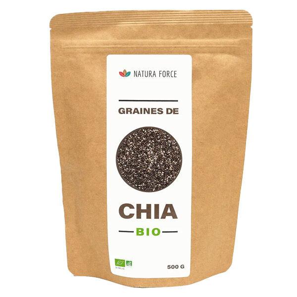 Natura Force Graines de Chia Bio 500g