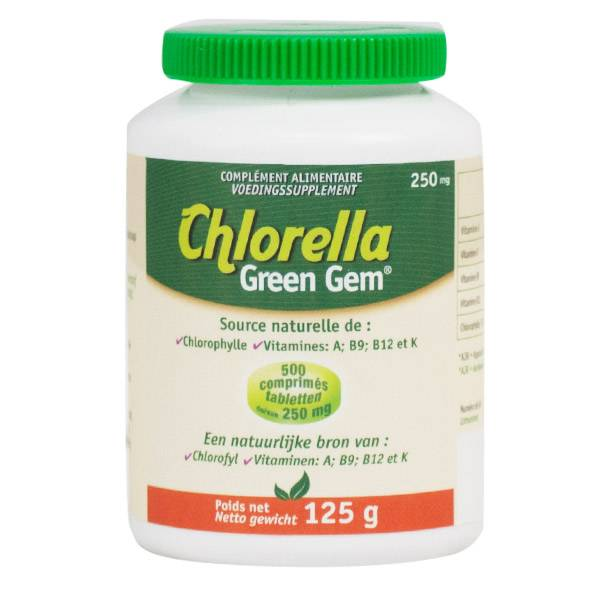 M.B.E Chlorella Green Gem 500 comprimés