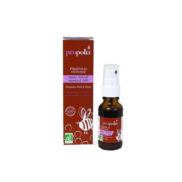 Propolia Propolis Intense Spray Buccal Apaisant Bio 20ml