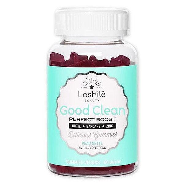 Lashilé Beauty Good Clean Perfect Boost Peau Nette 60 gummies vegan