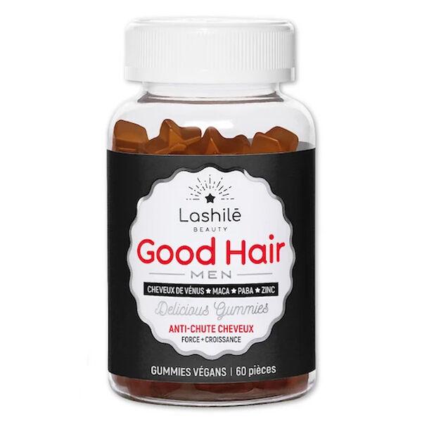 Lashilé Beauty Good Hair Men Anti-Chute Cheveux 60 gummies