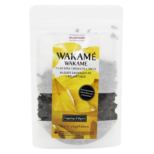 Algamar Algues Wakamé Flocons Croustillants Bio 25g