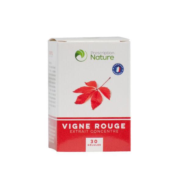 Prescription Nature Vigne Rouge 30 gélules