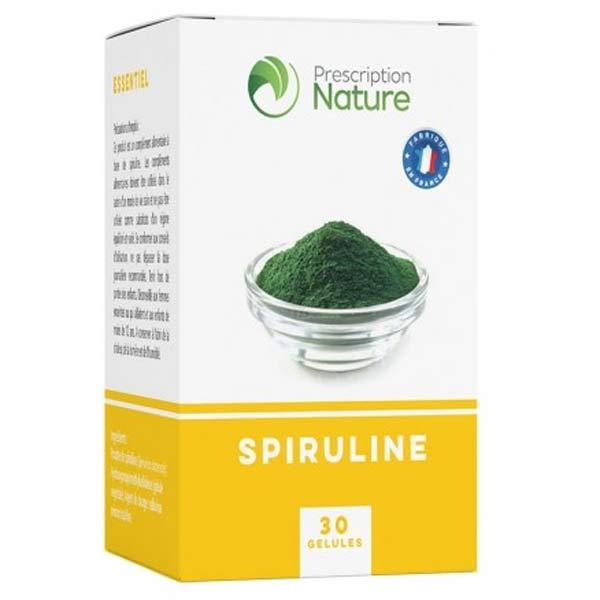Prescription Nature Spiruline 30 gélules