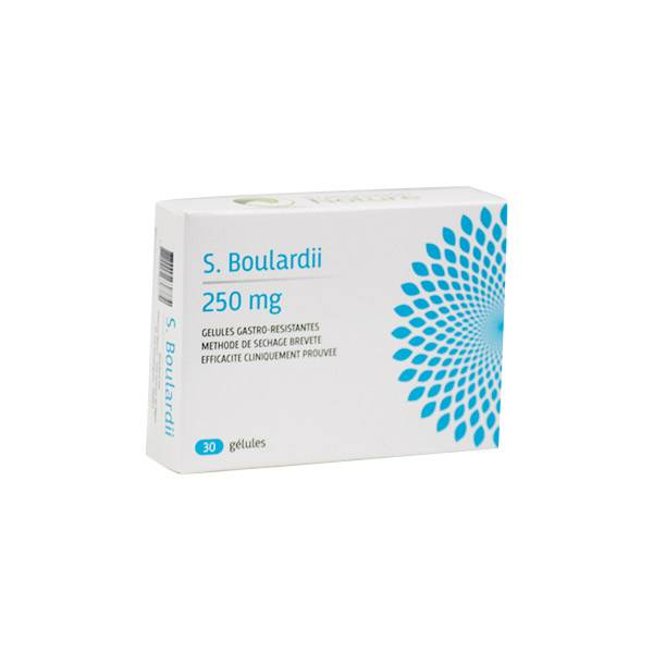 Prescription Nature Boulardii 30 gélules