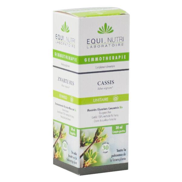 Equi-Nutri Gemmothérapie Cassis Bio 30ml