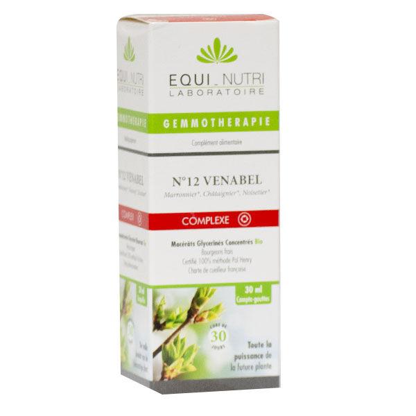 Equi-Nutri Gemmothérapie Complex Venabel 12 Bio 30ml