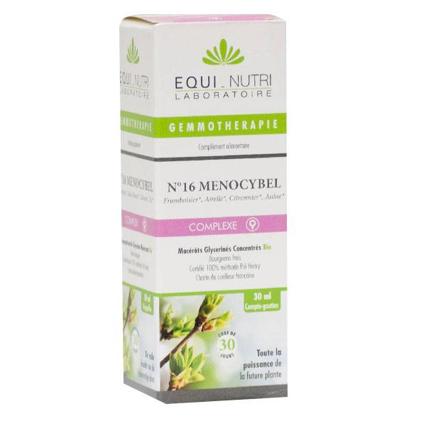 Equi-Nutri Gemmothérapie Complex Menocybel 16 Bio 30ml