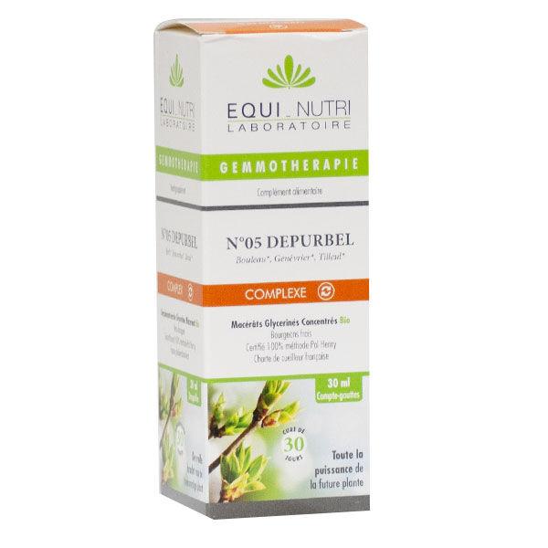 Equi-Nutri Gemmothérapie Complex Depurbel 05 Bio 30ml