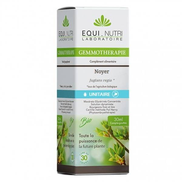 Equi-Nutri Gemmothérapie Noyer Bio 30ml