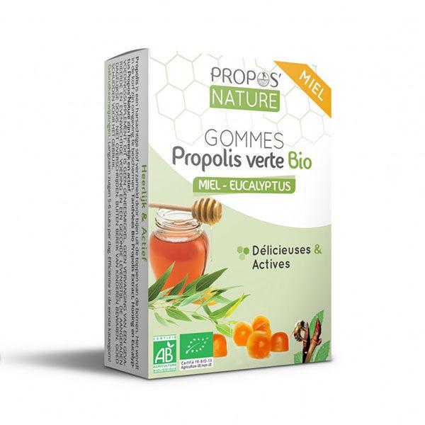 Propos'Nature Gomme de Propolis Bio Miel/Eucalyptus 45g