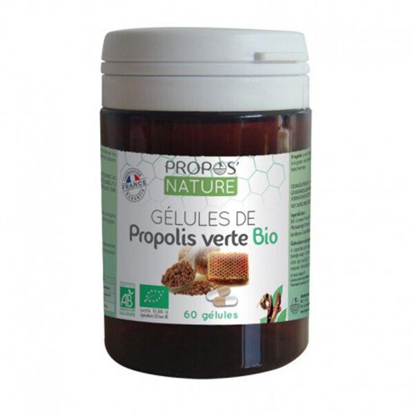Propos'Nature Propolis Verte Bio 60 gélules