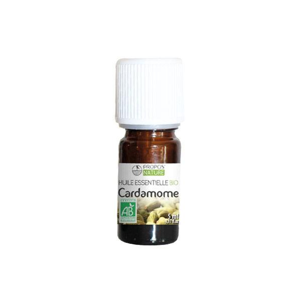 Propos'Nature Propos' Nature Aroma-Phytothérapie Huile Essentielle Cardamome Bio 5ml
