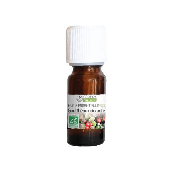 Propos'Nature Propos' Nature Aroma-Phytothérapie Huile Essentielle Gaulthérie Odorante Bio 10ml