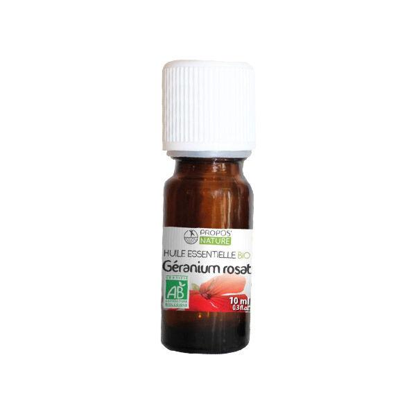 Propos'Nature Propos' Nature Aroma-Phytothérapie Huile Essentielle Géranium Rosat Bio 10ml