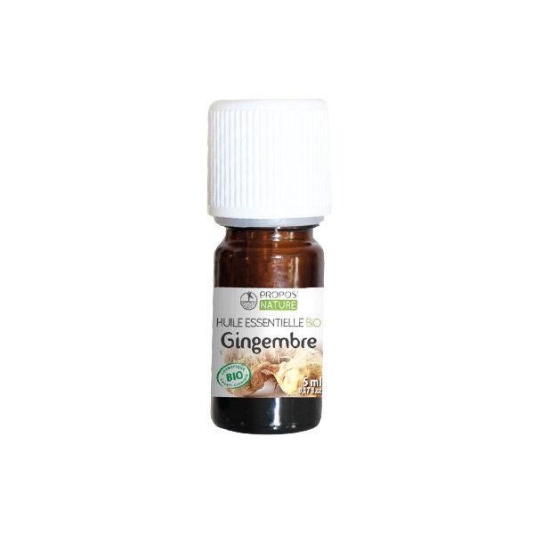 Propos'Nature Propos' Nature Aroma-Phytothérapie Huile Essentielle Gingembre Bio 5ml