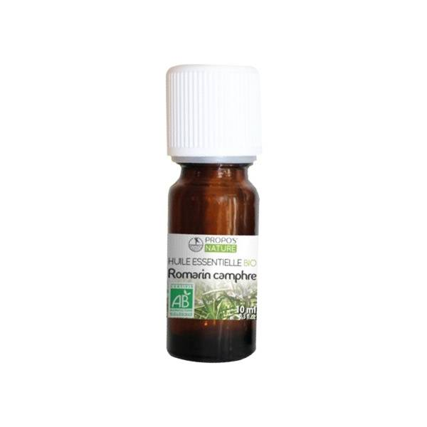 Propos'Nature Propos' Nature Aroma-Phytothérapie Huile Essentielle Romarin Camphre Bio 10ml