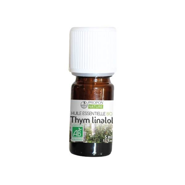 Propos'Nature Propos' Nature Aroma-Phytothérapie Huile Essentielle Thym Linalol Bio 5ml