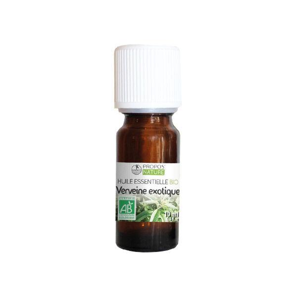 Propos'Nature Propos' Nature Aroma-Phytothérapie Huile Essentielle Verveine Exotique Bio 10ml
