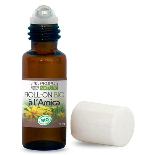 Propos'Nature Propos' Nature Aroma-Phytothérapie Roll-On aux Huiles Essentielles Arnica Bio 5ml