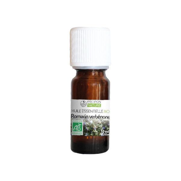 Propos'Nature Propos' Nature Aroma-Phytothérapie Huile Essentielle Romarin Verbénone Bio 10ml