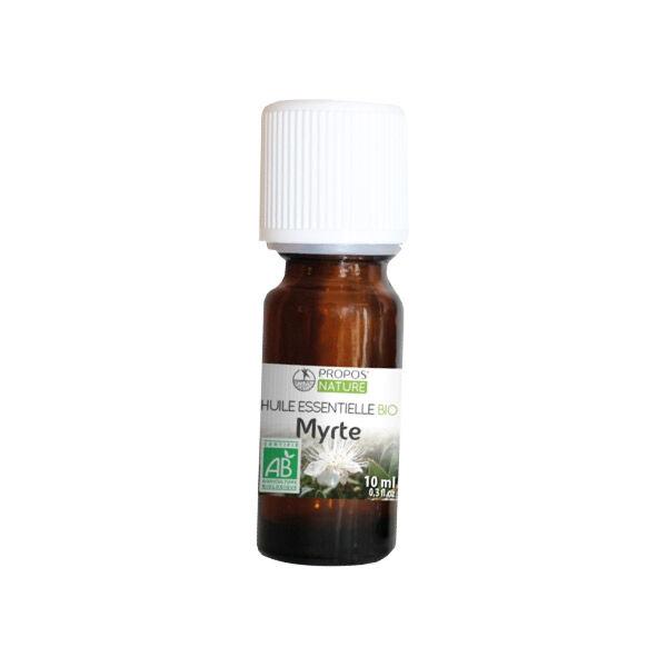 Propos'Nature Propos' Nature Aroma-Phytothérapie Huile Essentielle Myrte Bio 10ml