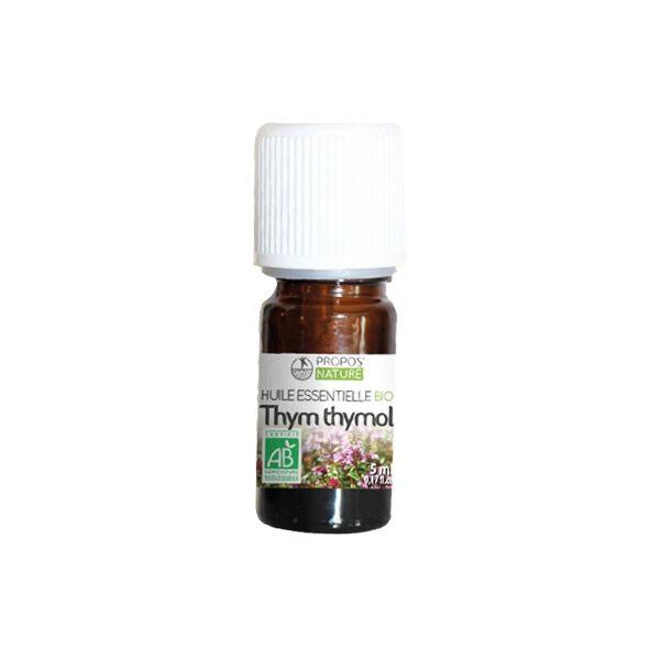 Propos'Nature Propos' Nature Aroma-Phytothérapie Huile Essentielle Thym Thymol Bio 5ml