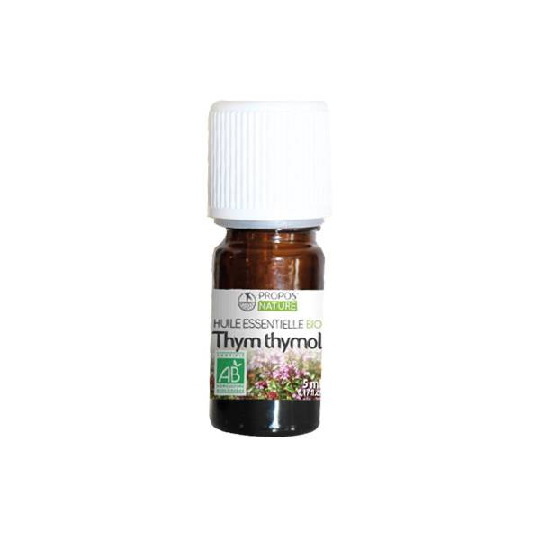 Propos'Nature Propos' Nature Aroma-Phytothérapie Huile Essentielle Thym Thymol Bio 5ml
