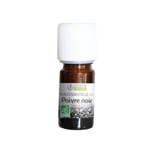Propos'Nature Propos' Nature Aroma-Phytothérapie Huile Essentielle Poivre Noir Bio 5ml