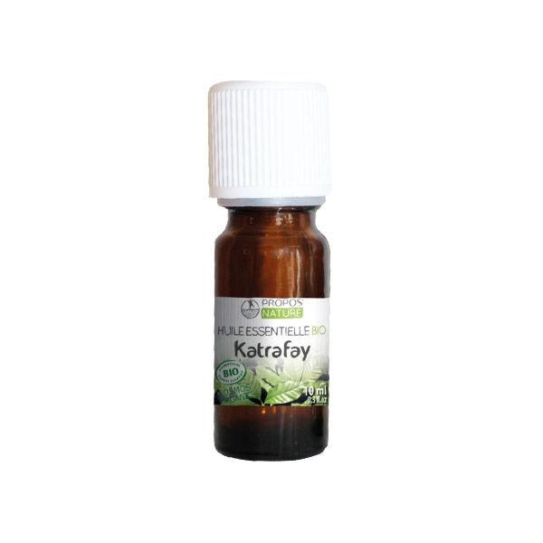 Propos'Nature Propos' Nature Aroma-Phytothérapie Huile Essentielle Katrafay Bio 10ml