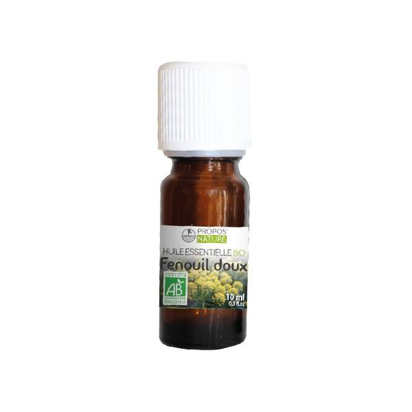 Propos'Nature Propos' Nature Aroma-Phytothérapie Huile Essentielle Fenouil Doux Bio 10ml