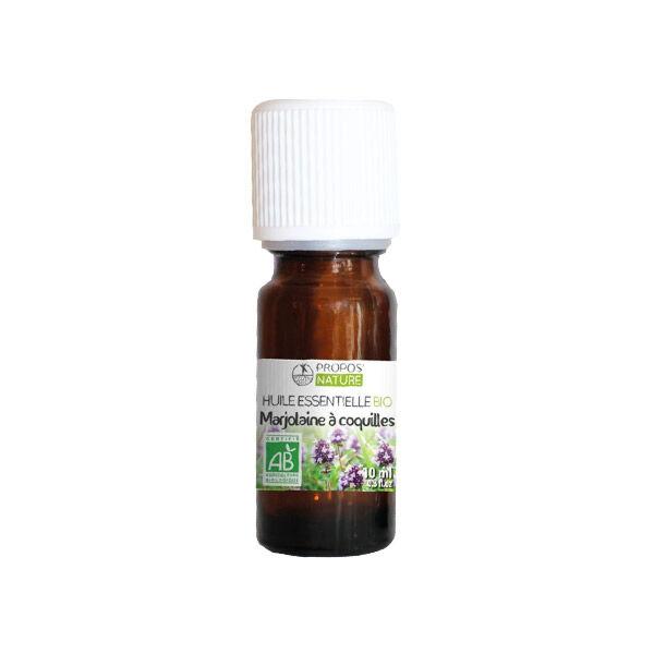 Propos'Nature Propos' Nature Aroma-Phytothérapie Huile Essentielle Marjolaine à Coquilles Bio 10ml