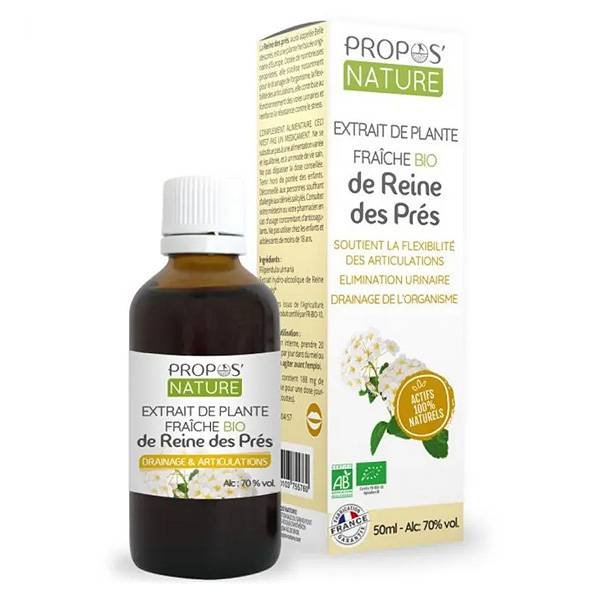 Propos'Nature Propos' Nature Extrait de Plante Fraîche de Reine des Prés Bio 50ml
