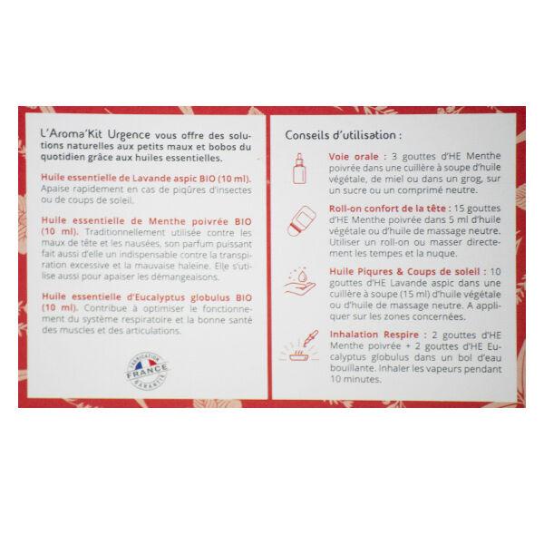 Propos'Nature Propos' Nature Trio d'Huiles Essentielles Bio Aroma'Kit Urgence