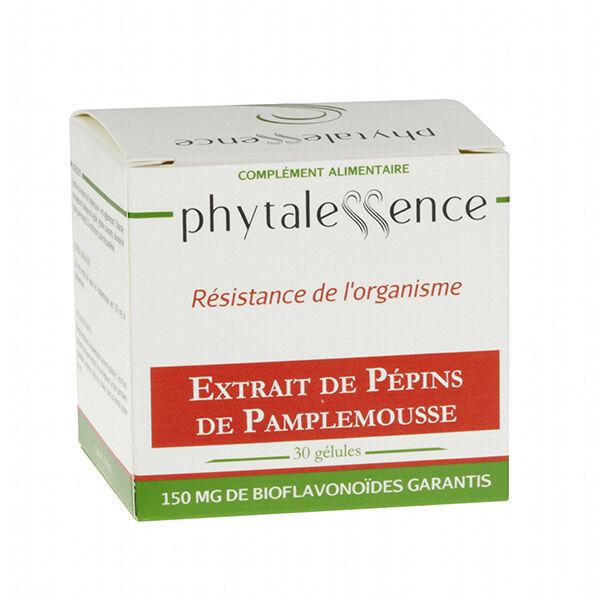 Phytalessence Extrait de Pépins de Pamplemousse 30 gélules